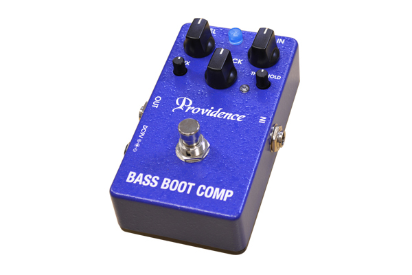 Providence Unveils Bass Boot Comp BTC-1 Pedal