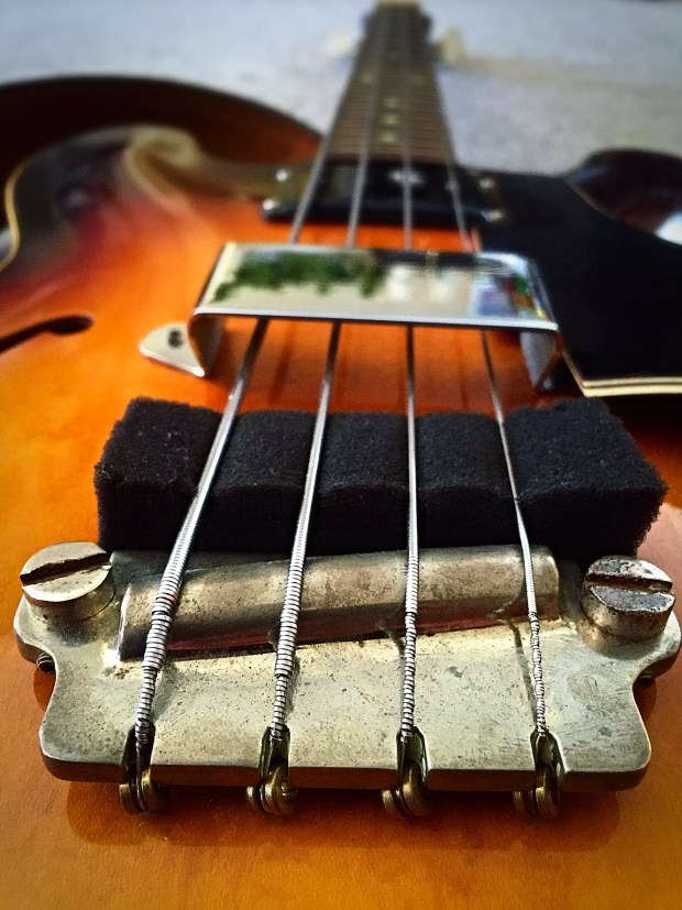 1959 Gibson EB-2 Bass bridge