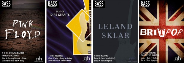 Aidan Hampson Bass Transcription Books