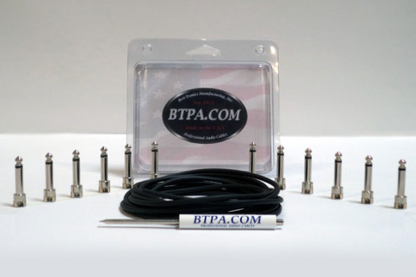 BTPA Introduces Solderless Patch Cable Kit