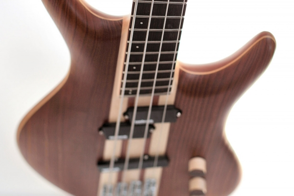 Bass of the Week: Ploughman Guitars Fanned Fret Bass