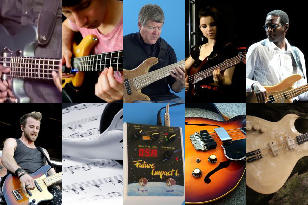 Weekly Top 10: New Bass Lesson, Old School Gibson Bass, Making Transcribing Easier, Top Videos and More