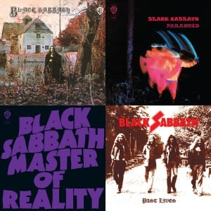 Four Black Sabbath Albums Released in Deluxe Editions