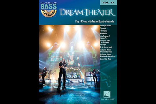 Dream Theater Bass Play-Along Book Released