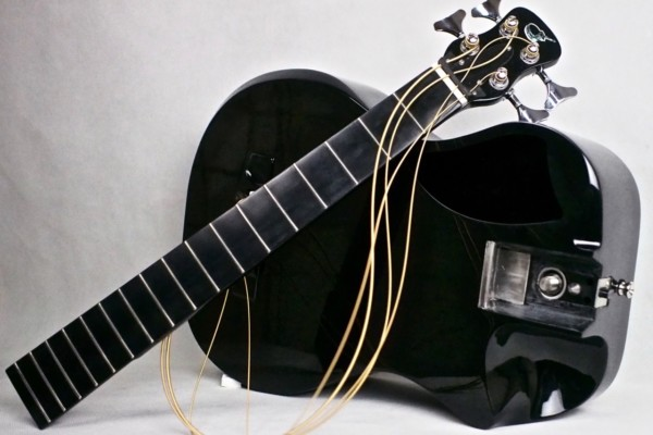 Journey Instruments Introduces Collapsible Carbon Fiber Acoustic Bass Guitar