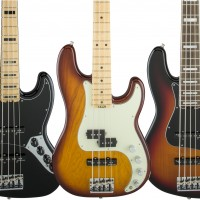 Fender Unveils American Elite Series Basses