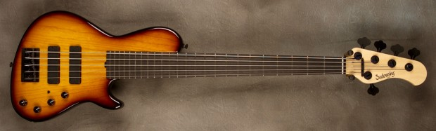 Sadowsky Single Cut 24 Fret NYC Bass Burst