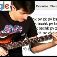 Davie504: Google Translate Meets Bass