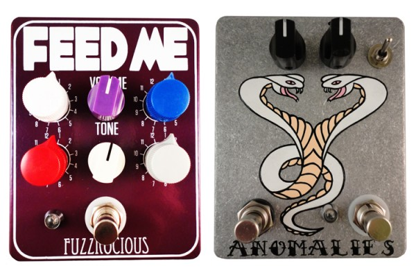 Fuzzrocious Pedals Announces Feed Me and Anomalies Pedals