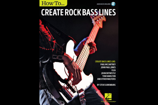 Book Aims to Help You Create Bass Lines
