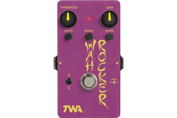 TWA Now Shipping WR-3 Wah Rocker Pedal
