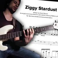 Bass Transcription: Mattia La Maida's Solo Bass Arrangement on David Bowie's â??Ziggy Stardustâ?