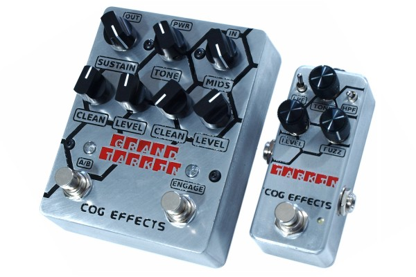 Cog Effects Revamps Tarkin and Grand Tarkin Fuzz Pedals