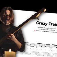 """Bass Transcription: Gheorghe Postoronca's """"Crazy Train"""""""