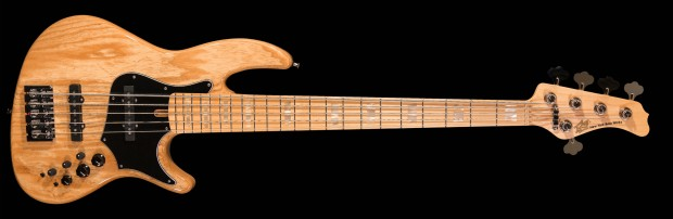 New York Bass Works Reference Bass Ash - and Maple