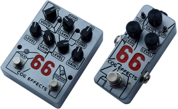 Cog Effects Knightfall 66 and Mini 66 Overdrive Pedals