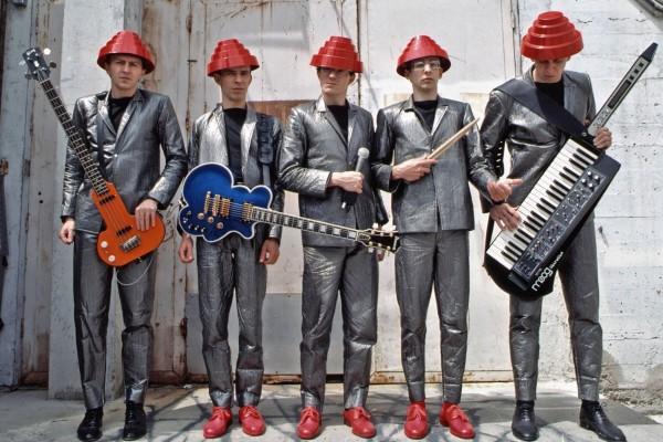 "Eastwood Guitars Recreates Devo ""Be Stiff"" Bass Guitar"