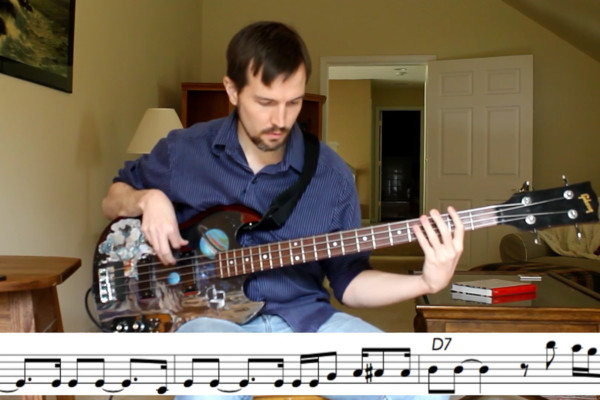 "Bass Transcription: Bob West's Bass Line on Odetta's ""Hit or Miss"""