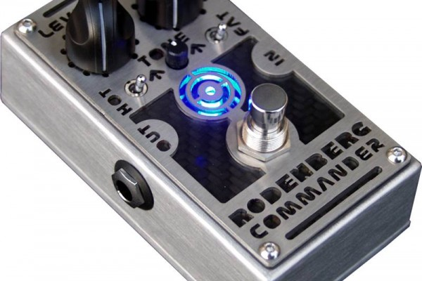 Rodenberg Amplification Introduces Commander Distortion Pedal