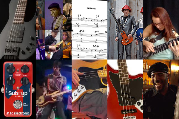 Weekly Top 10: New Bass Gear, How to Reharmonize A Song, Top Bass Videos, Talking Technique and More