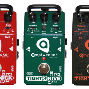 Amptweaker Introduces Bass Jr Distortion Pedal Series