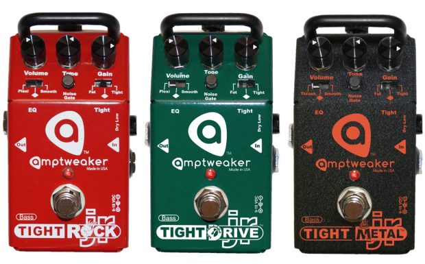 Amptweaker Bass Jr Distortion Pedal Series