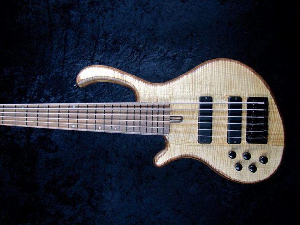 LedBelli Basses Noah 6-string Bass Body