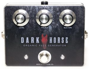 Rock Stock Pedals Dark Horse Fuzz Pedal