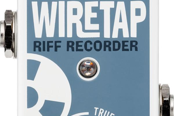 TC Electronic Unveils the WireTap Riff Recorder Pedal
