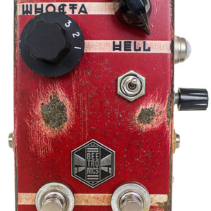 Beetronics Launches the Whoctahell Fuzz/Octave Pedal