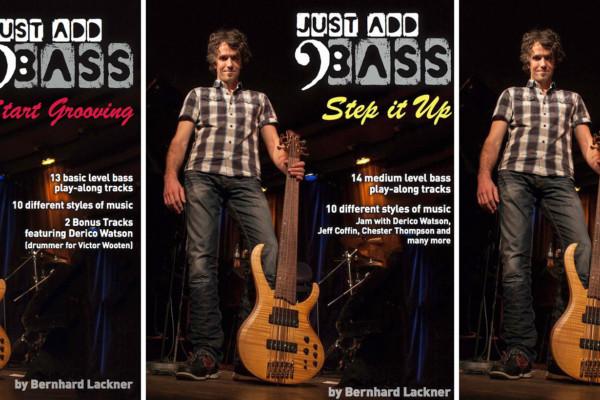Bernhard Lackner Releases Three New Bass Instruction Books