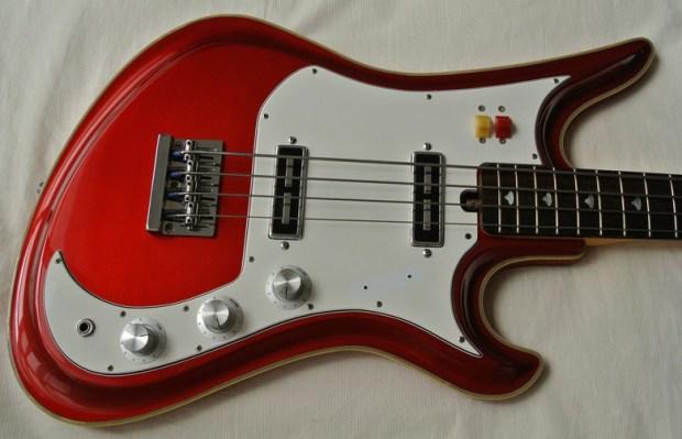 Eastwood Teisco Spectrum 5 Bass Body