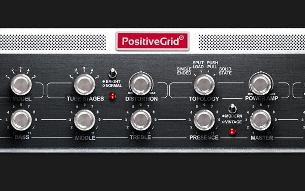 Positive Grid Announces the BIAS Rack Amp