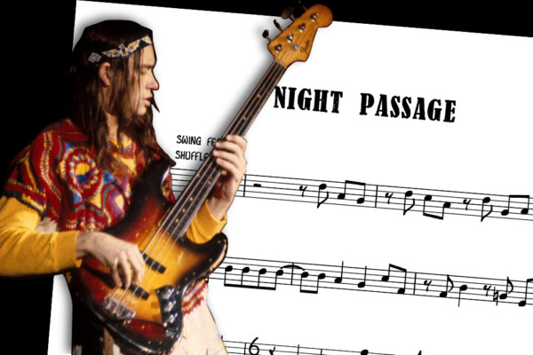"Bass Transcription: Jaco Pastorius's Bass Line on Weather Report's ""Night Passage"""