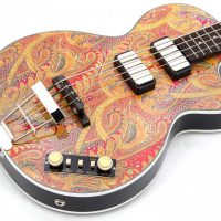 Bass of the Week: Höfner Guitars Gold Label Paisley 500/2 Club Bass