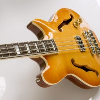 Ploughman Guitars Semi-Hollow Bass