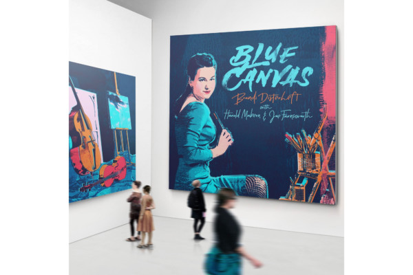 "Brandi Disterheft Releases ""Blue Canvas"""