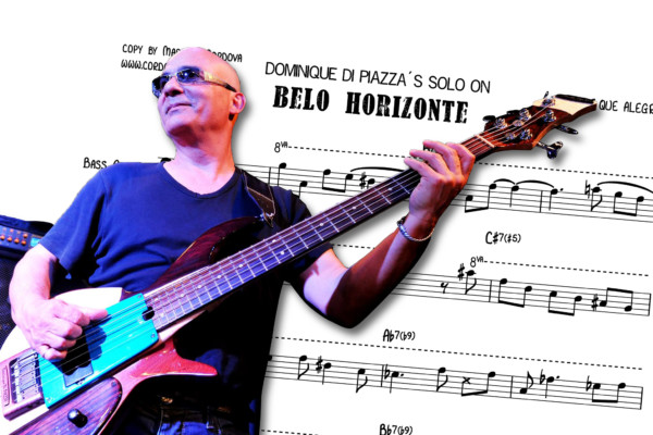 "Bass Transcription: Dominique di Piazza's Bass Solo on John McLaughlin's ""Belo Horizonte"""