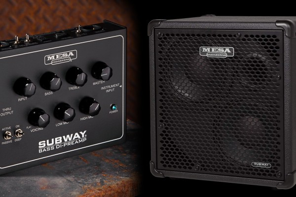 Mesa Adds 2×10 Cabinet and DI/Preamp Pedal to Subway Series