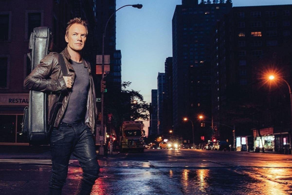 "Sting Releases ""57th and 9th"", Announces World Tour"