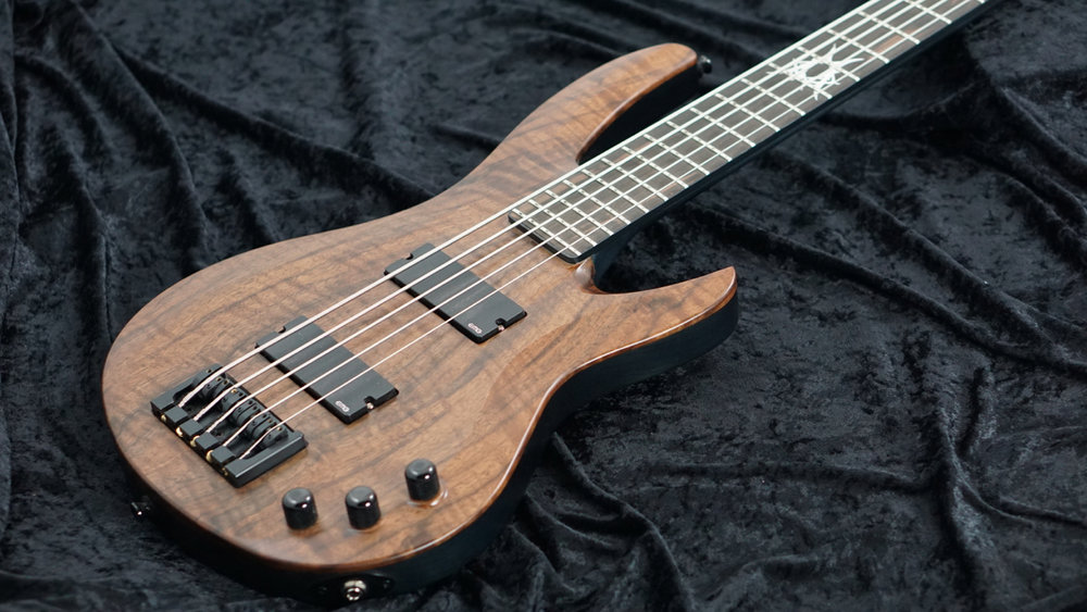 Strictly 7 Guitars Copperhead Bass Body Angle