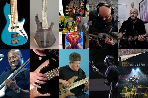 Weekly Top 10: New Bass Gear and Videos, Bass of the Week, Your Top 10 Bass Albums, New Lessons and More