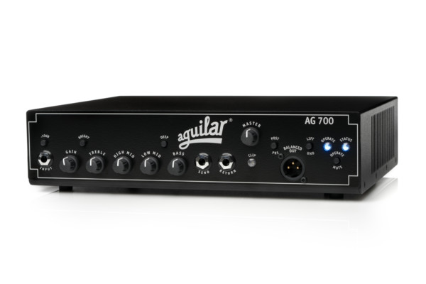 Aguilar Amplification Unveils AG 700 Bass Amplifier