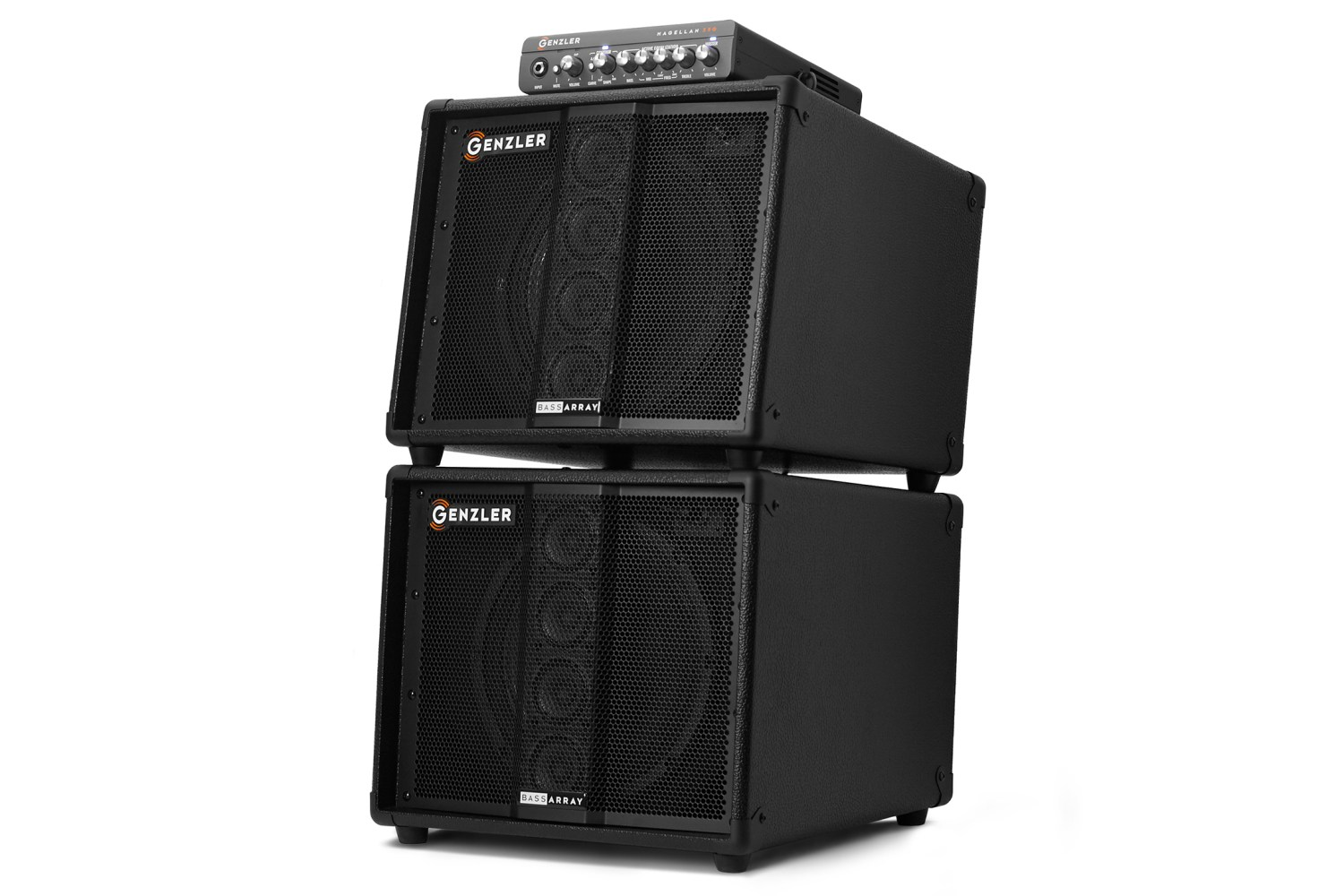 Genzler Amplification MG-350:BA10 Combo Stacked