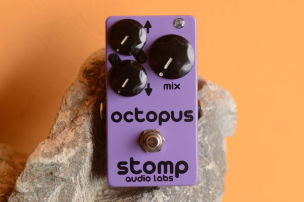 Stomp Audio Labs Introduces Octopus Octave Pedal