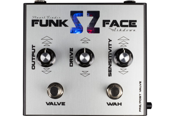 Ashdown Introduces Stuart Zender Funk Face Twin Dynamic Filter Pedal