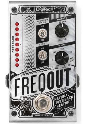 Digitech FreqOut Feedback Pedal