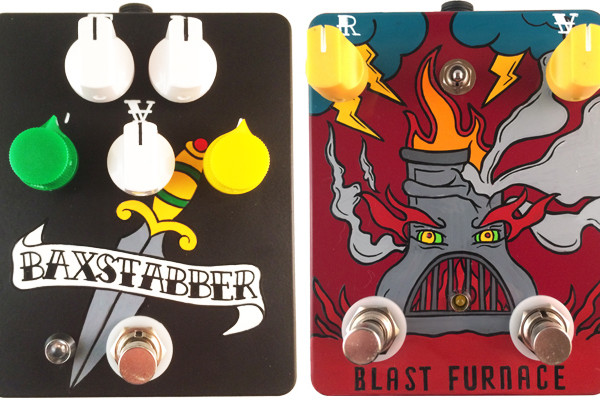 Fuzzrocious Unveils Baxstabber and Blast Furnace Pedals