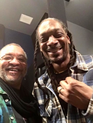 George Porter, Jr. with Snoop Dogg
