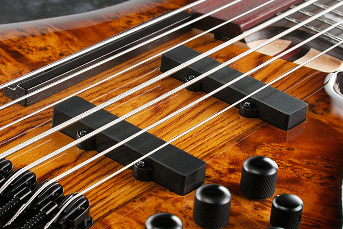Ibanez Ashula SRAS7 Hybrid Fretted-Fretless Bass Single Coils